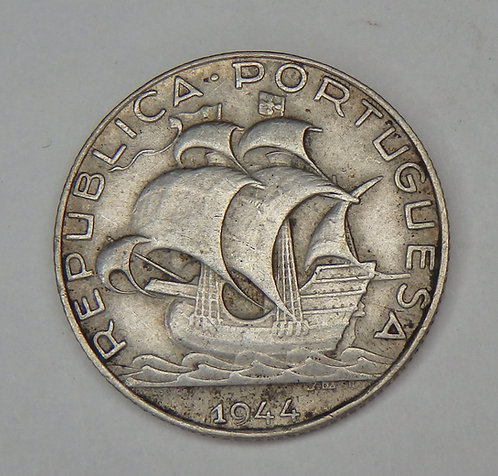 Portugal - 2 1/2 Escudos - 1944