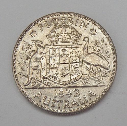 Australia - Florin - 1943-S