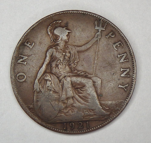 Great Britain - Penny - 1921