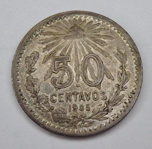 Mexico - 50 Centavos - 1905