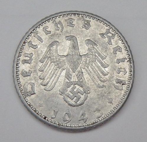 Germany - 50 Reichspfennig - 1943A