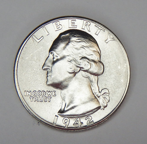 1942-D Washington Quarter