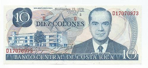 Costa Rica - 10 Colones - 1979