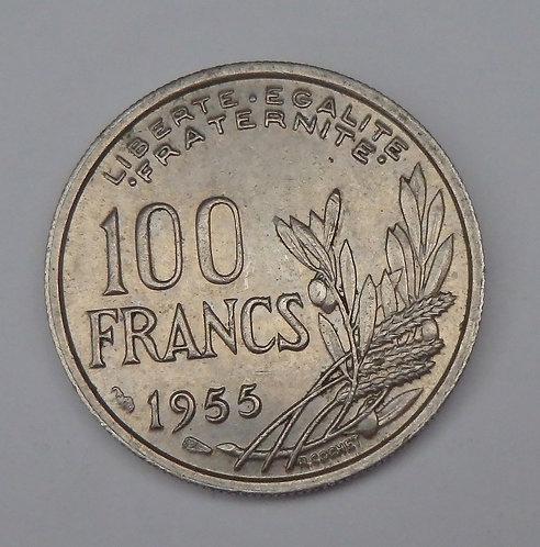 France - 100 Francs - 1955