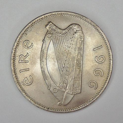Ireland - Half Crown - 1966