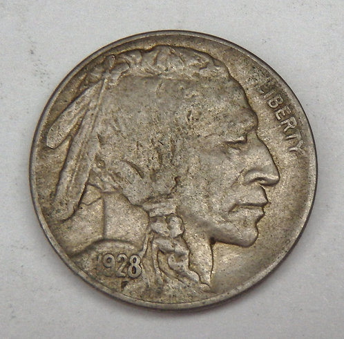 1928-D Buffalo Nickel