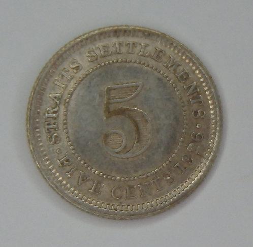 Straits Settlements - 10 Cents - 1926
