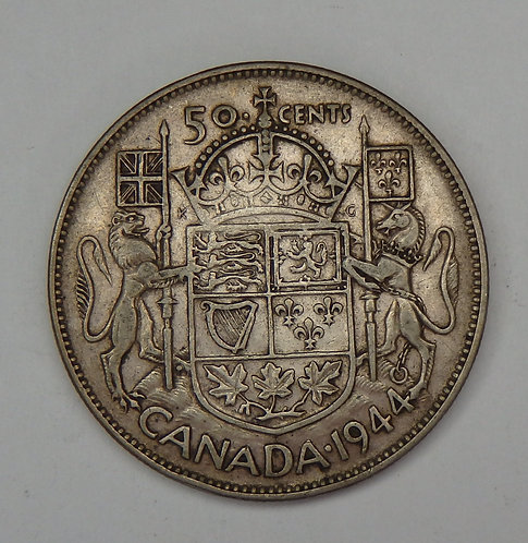 Canada - 50 Cents - 1944