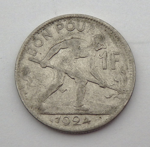 Luxembourg - Franc - 1924