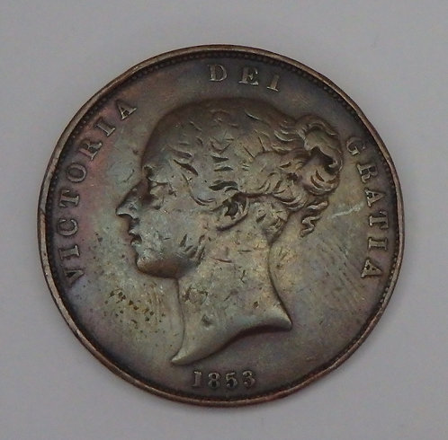 Great Britain - Penny - 1853