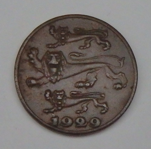 Estonia - Sent - 1929