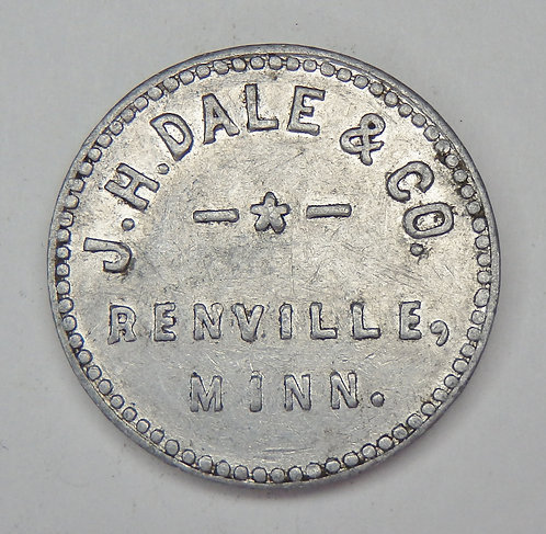 Minnesota, Renville - J.H. Dale & Co. Token