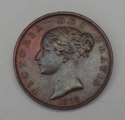 Great Britain  - Half Penny - 1853/2