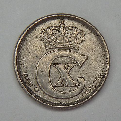 Denmark - 10 Ore - 1920