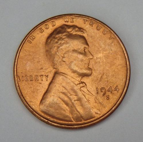 1944-S Wheat Cent