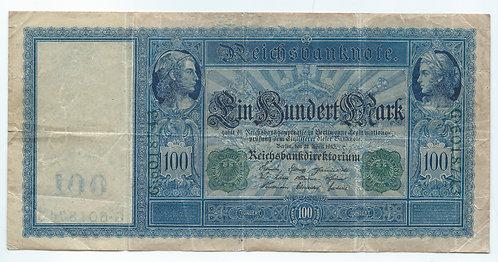 Germany - 100 Mark - 1910