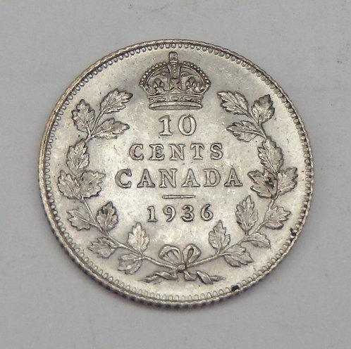 Canada - 10 Cent - 1936