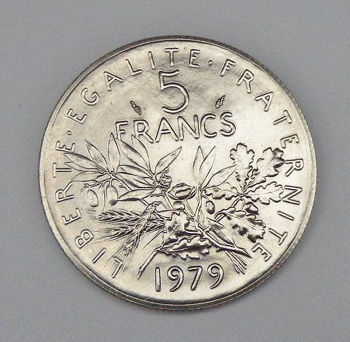 France - 5 Francs - 1979