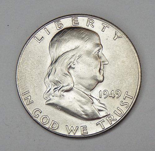 1949 Franklin Half Dollar
