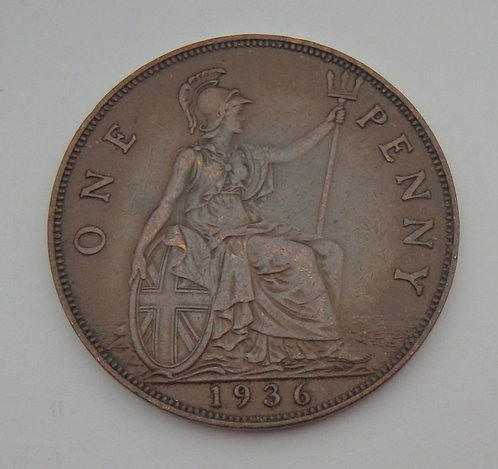 Great Britain - Penny - 1936