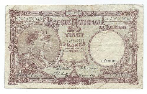 Belgium - 10 Francs - 1944
