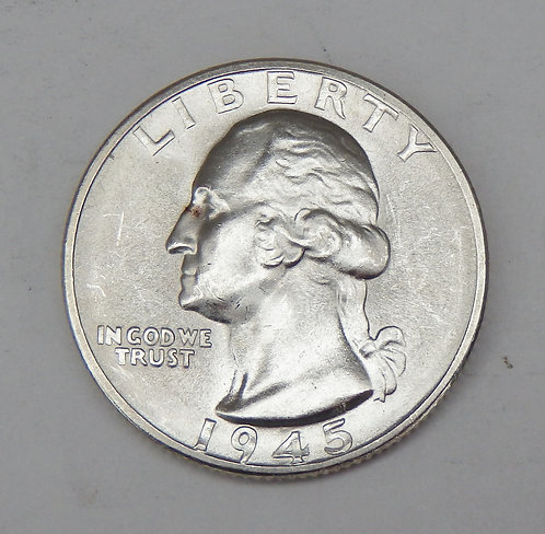 1945-S Washington Quarter