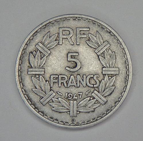 France - 5 Francs - 1947-B
