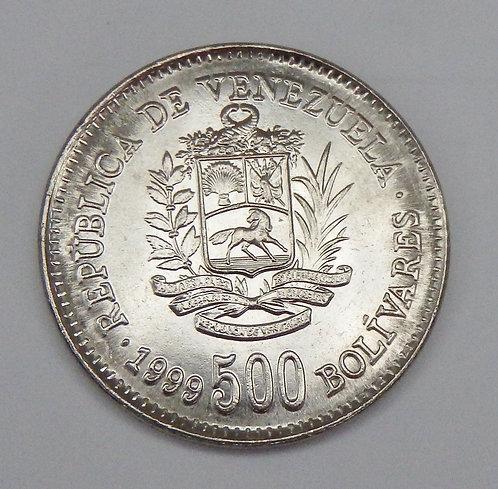 Venezuela - 500 Bolivares - 1999