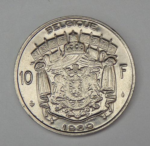 Belgium - 10 Francs - 1969