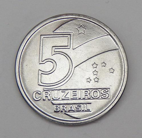 Brazil - 5 Cruzeiros - 1991