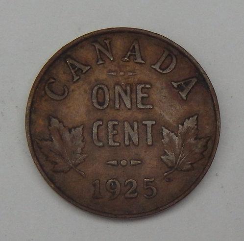 Canada - Cent - 1925