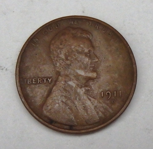 1911-D Lincoln Cent