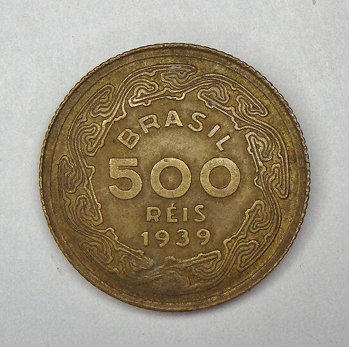 Brazil - 500 Reis - 1939