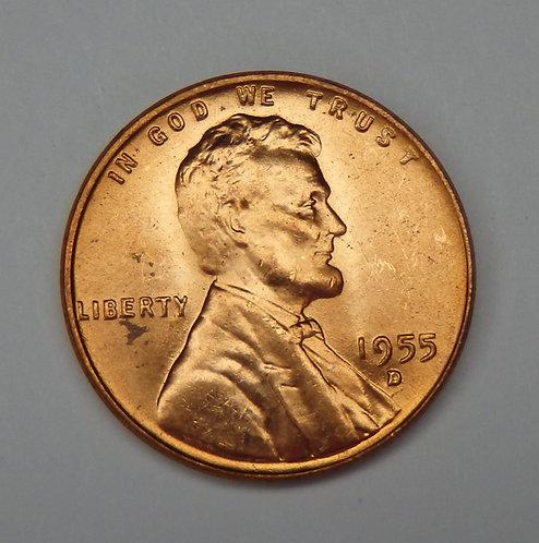 1955-D Wheat Cent