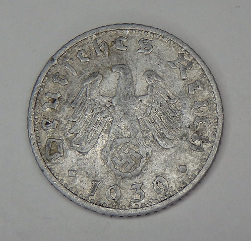 Germany - 50 Pfennig - 1939-G