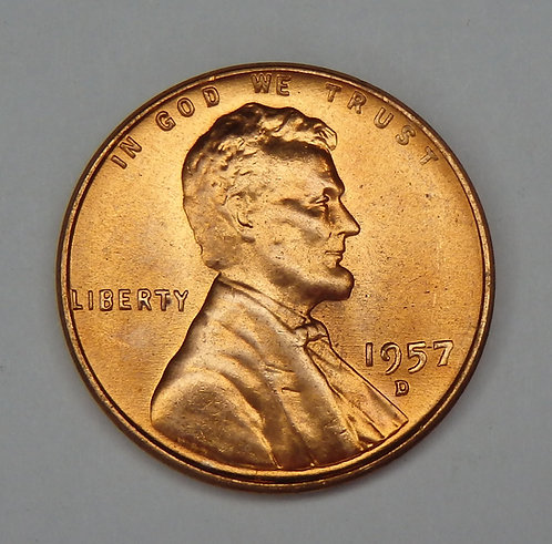 1957-D Lincoln Cent