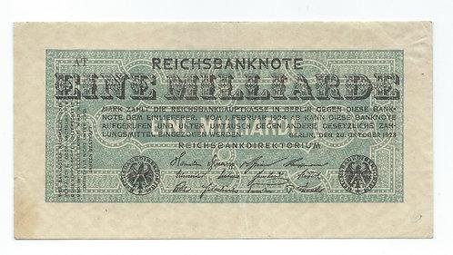 Germany - 1 Milliard - 1924