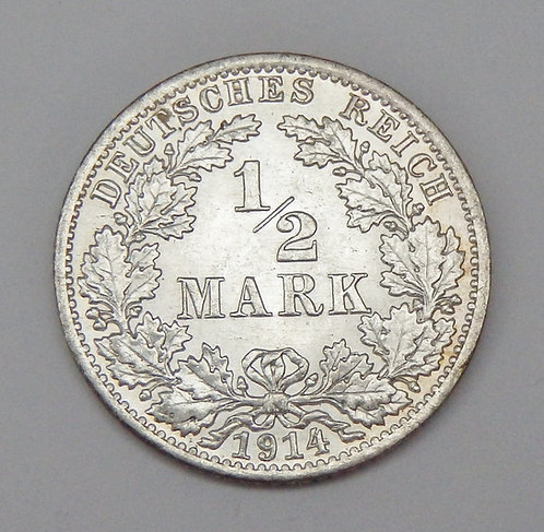 Germany - Half Mark - 1914A