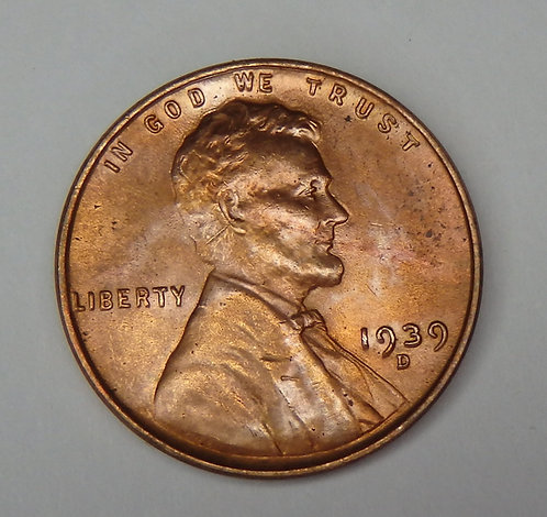 1939-D Wheat Cent