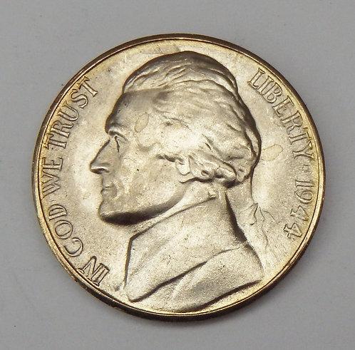1944-S Jefferson Nickel