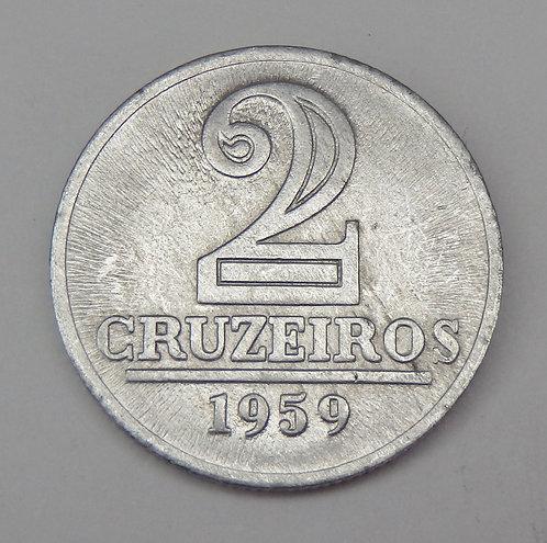 Brazil - 2 Cruzeiros - 1959