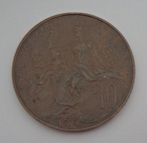 France - 10 Centimes - 1901