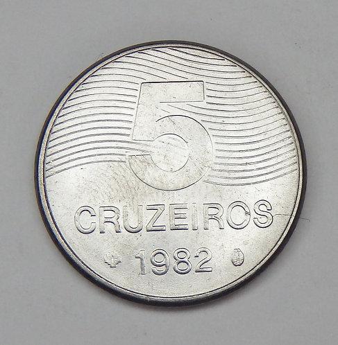 Brazil - 5 Cruzeiros - 1982