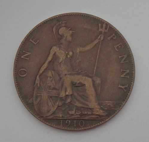 Great Britain - Penny - 1910