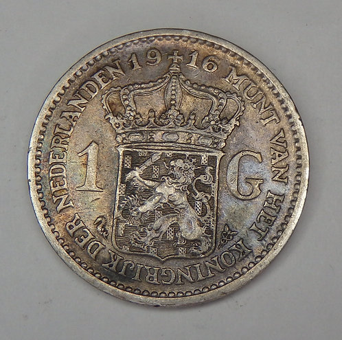 Netherlands - Gulden - 1916