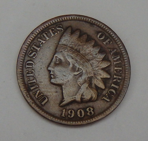 1908-S Indian Head Penny