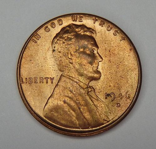 1946-D Wheat Cent