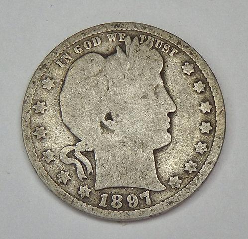 1897 Barber Quarter