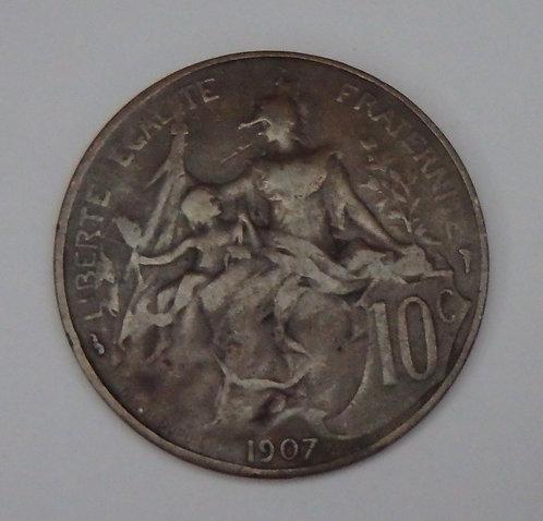 France - 10 Centimes - 1907