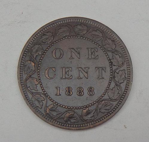 Canada - Cent - 1888